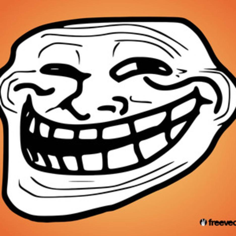 Troll Face Vector