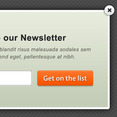 Free Newsletter Popup