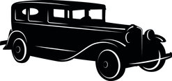 Retro Automobile Vector