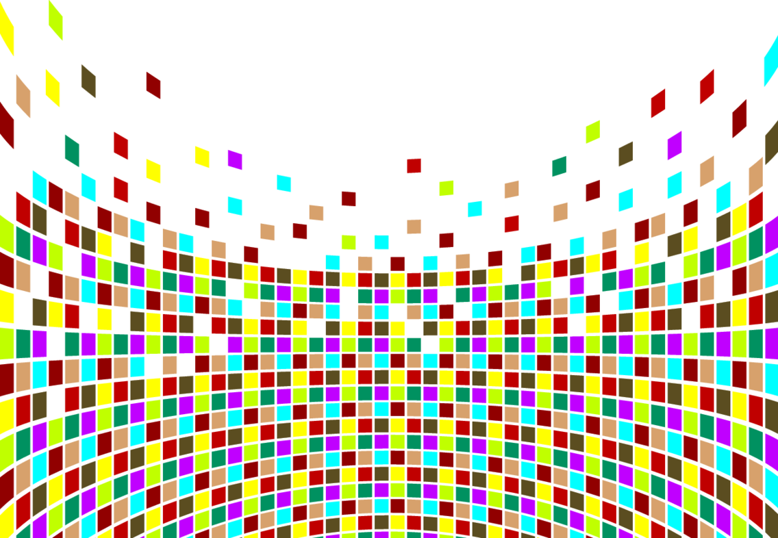 Wavy Colorful Cubes