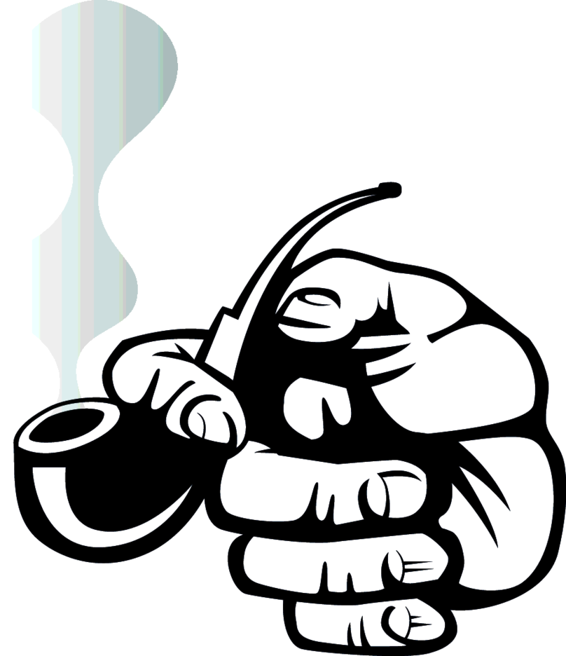 Smoking Pipe Vector Graphics
