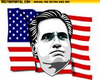 Mitt Romney Vector Portrait