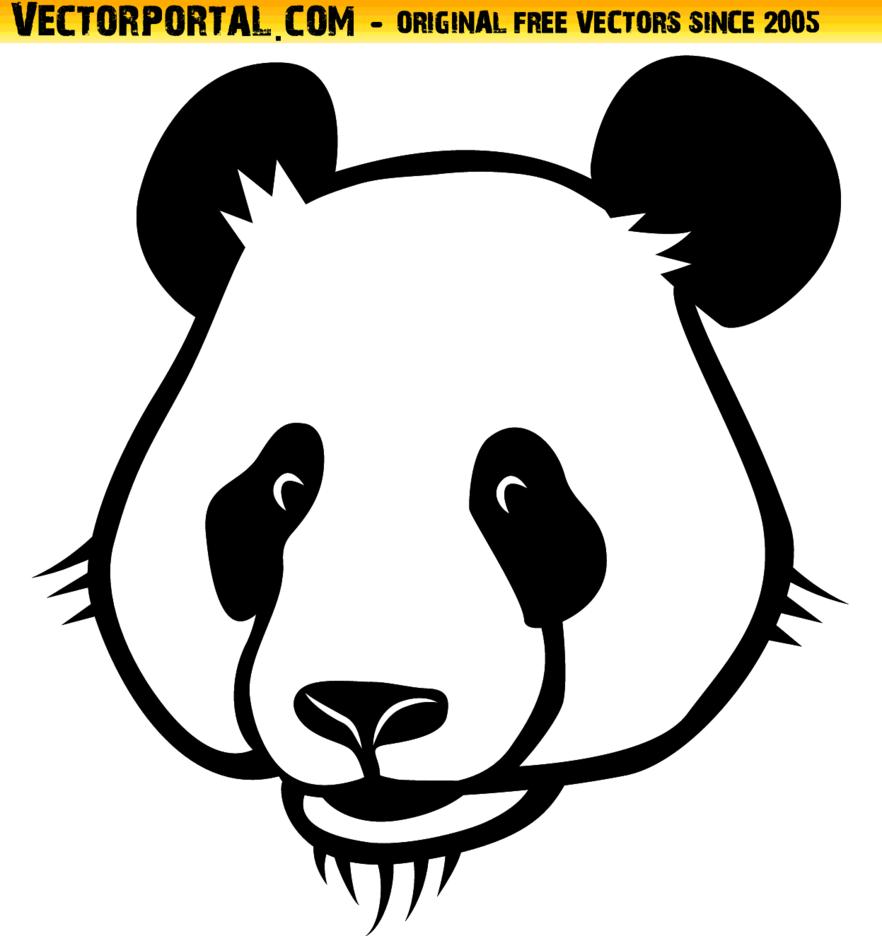 Panda Vector Graphics
