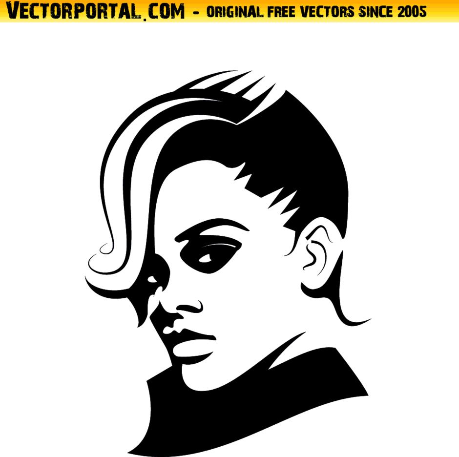 Rihanna Vector Illustration