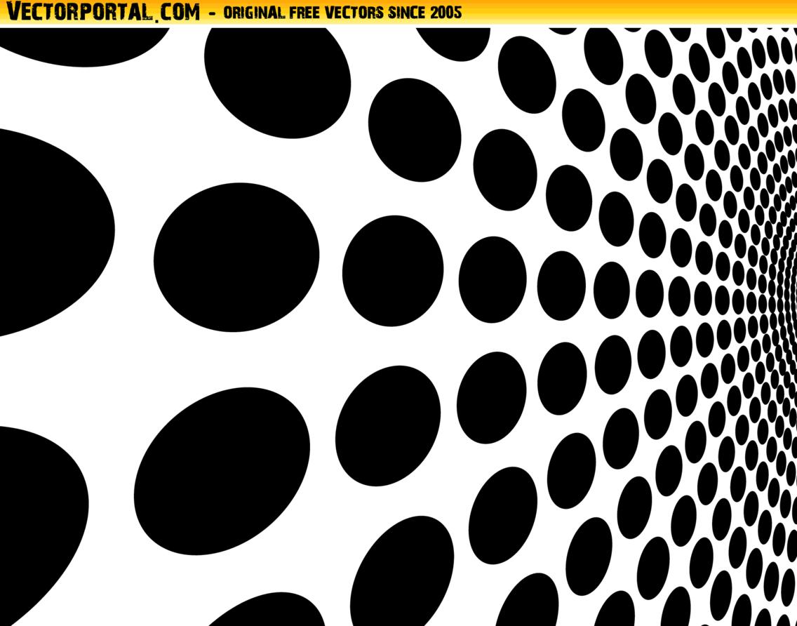 Black Dots Abstract Vector