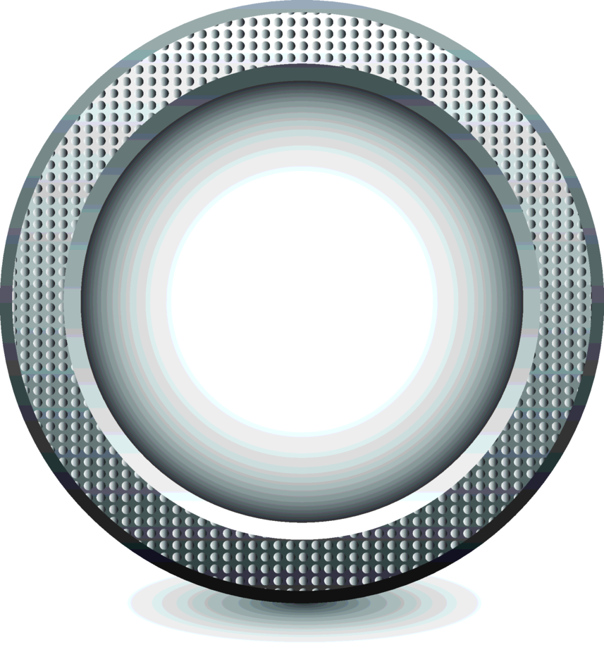 Vector Metal Button