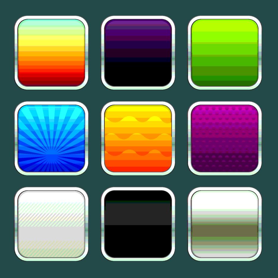 Application Icon Templates