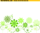 Flourish Garden Vector