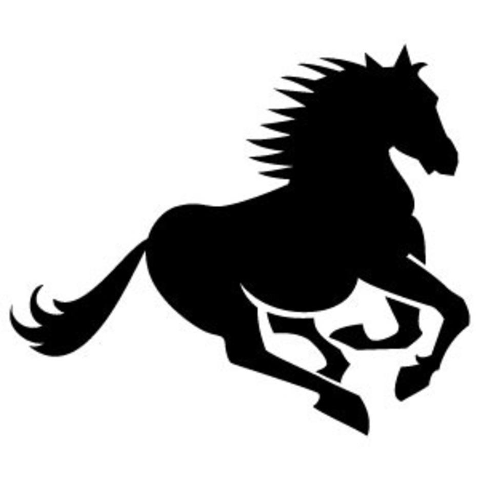 Horse Vector Silohuette