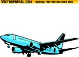Aircraft Vector Clip Art