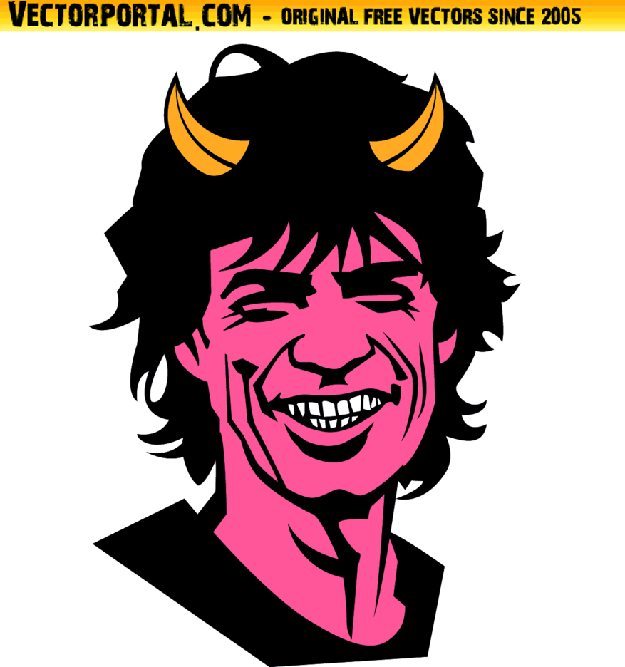 MIck Jagger Vector - Sympathy For The Devil