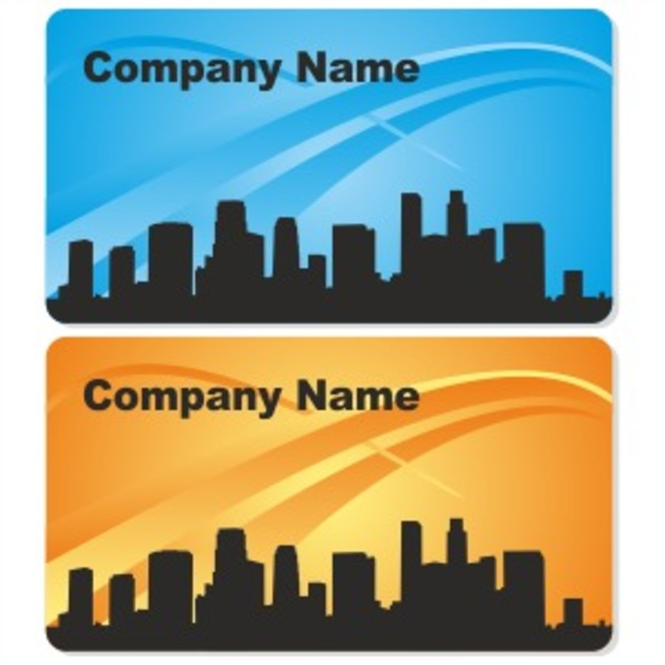 City Business Card Design