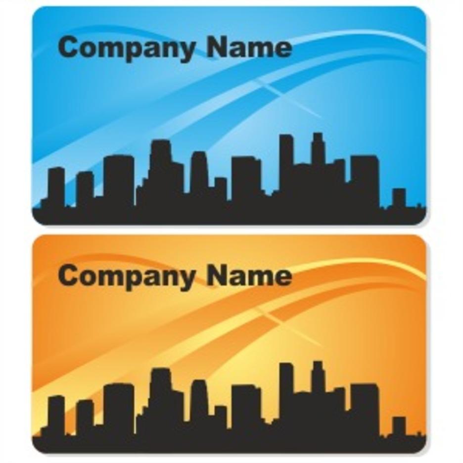 City Business Card Design
