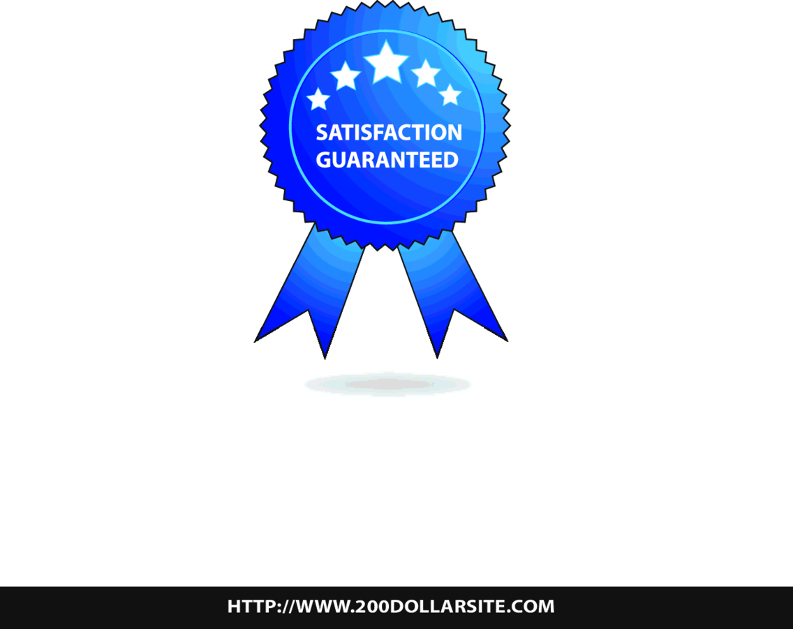 Satisfaction Guaranteed Badge - Free Vector