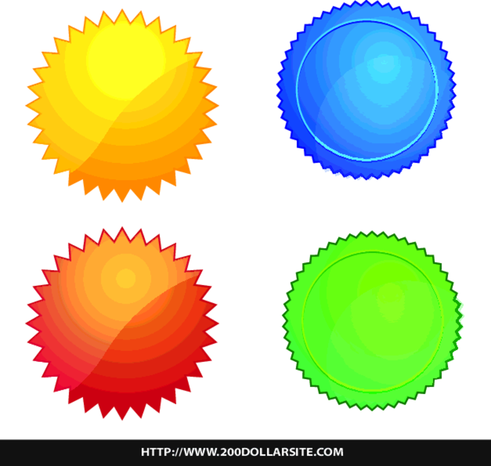 Another Set Of Free Vector Badges