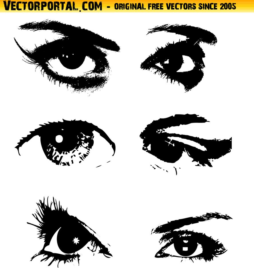 Eyes Vector Set