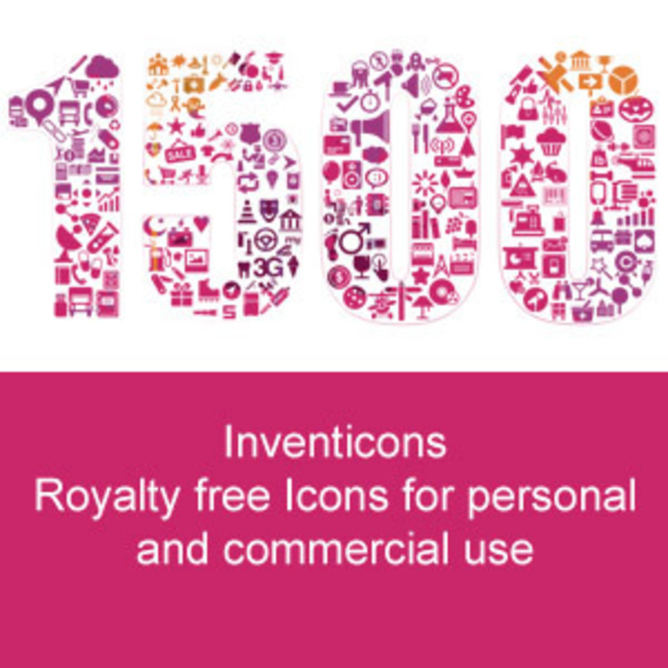 1500 Royalty Free Icons For Personal And Commercial Use