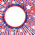 Fourth Of July Vector Grunge Banner