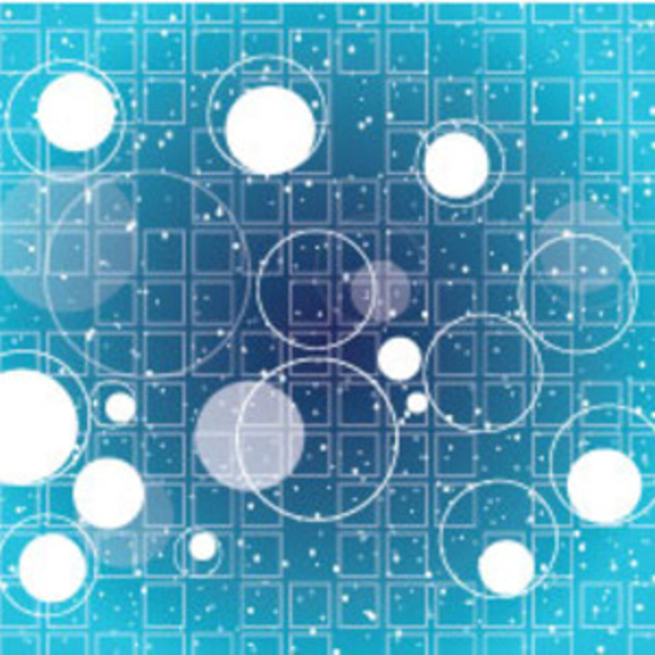 Blue Circles With Free Vector Graphic