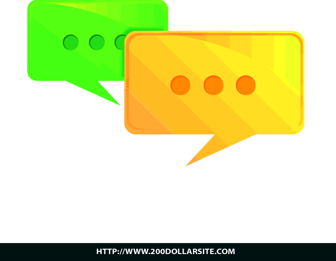 Free Vector Of Speech Bubble  Discussion Icon