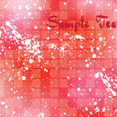 Abstract Red Grunged Vector Design