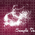 Splashled Dark Grunge Vector Background