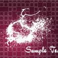 Splashled Dark Grunge Vector Background