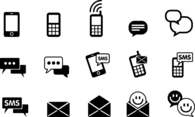 Instant Messenger + SMS Icon Pack