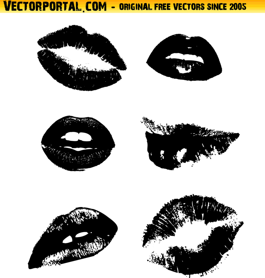 Lips Vector Collection