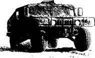 Humvee Vector