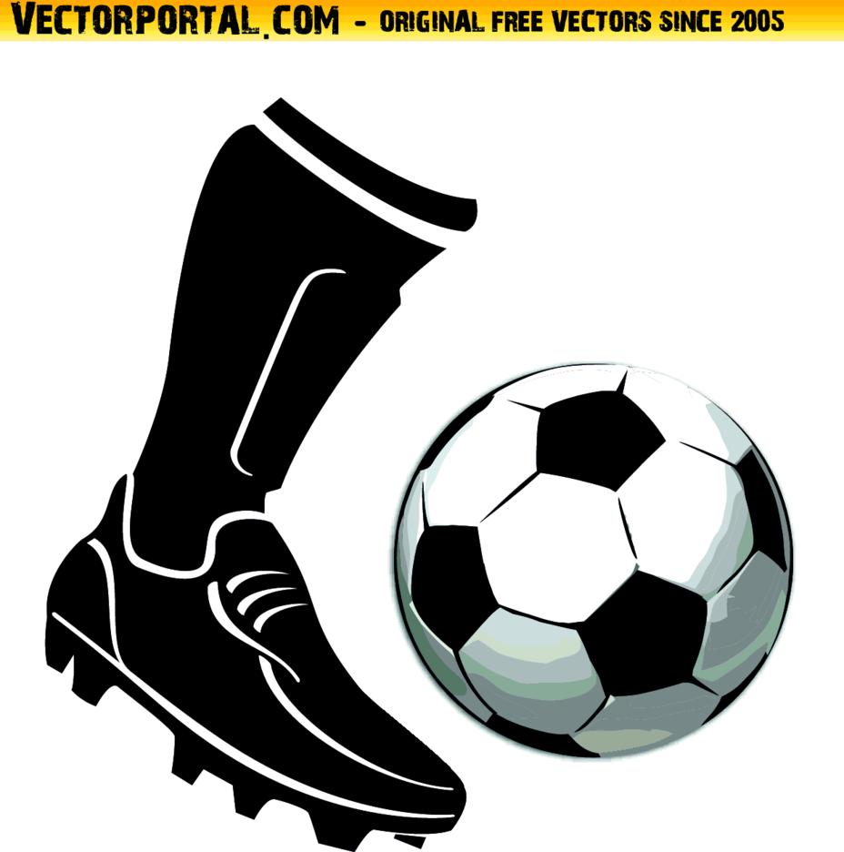 Soccer Boot Vector