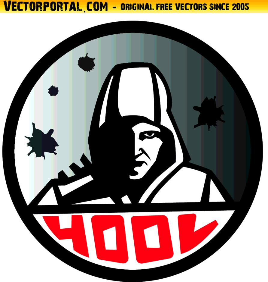Hooligan Face Vector