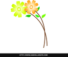 Free Simple Flower Vector