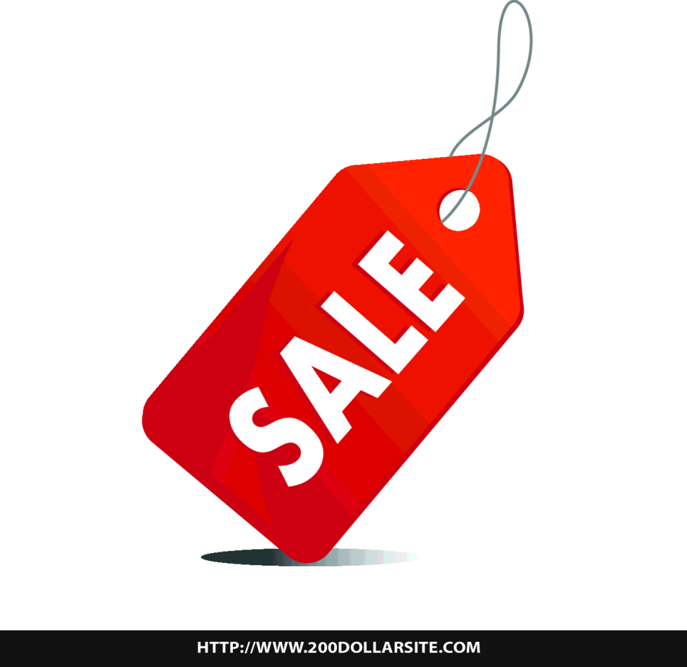 Free Sale Tag Vector