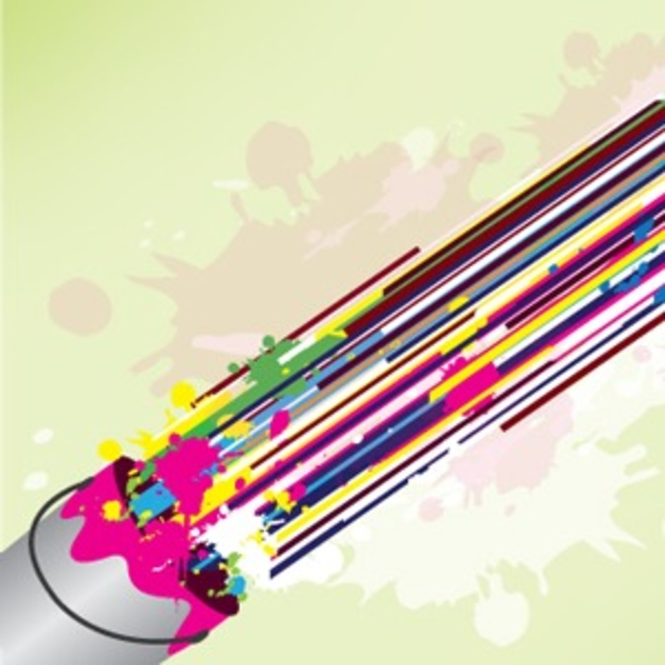 Colorful Lines Abstract Design