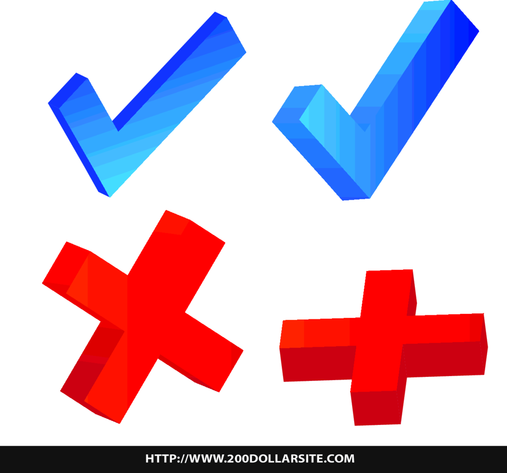 Free Vector Of Validation Icon Labels