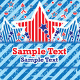 Fourth Of July Celebration Vector Card