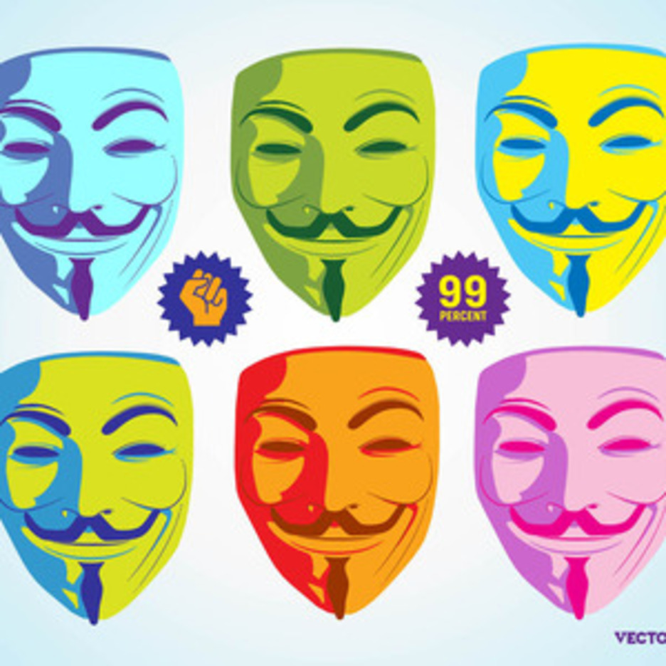 Anonymous Mask Graphics