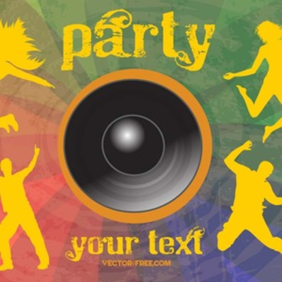 Free Party Flier Vector