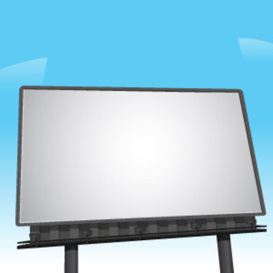 Billboard Vector By VectorOpenStock