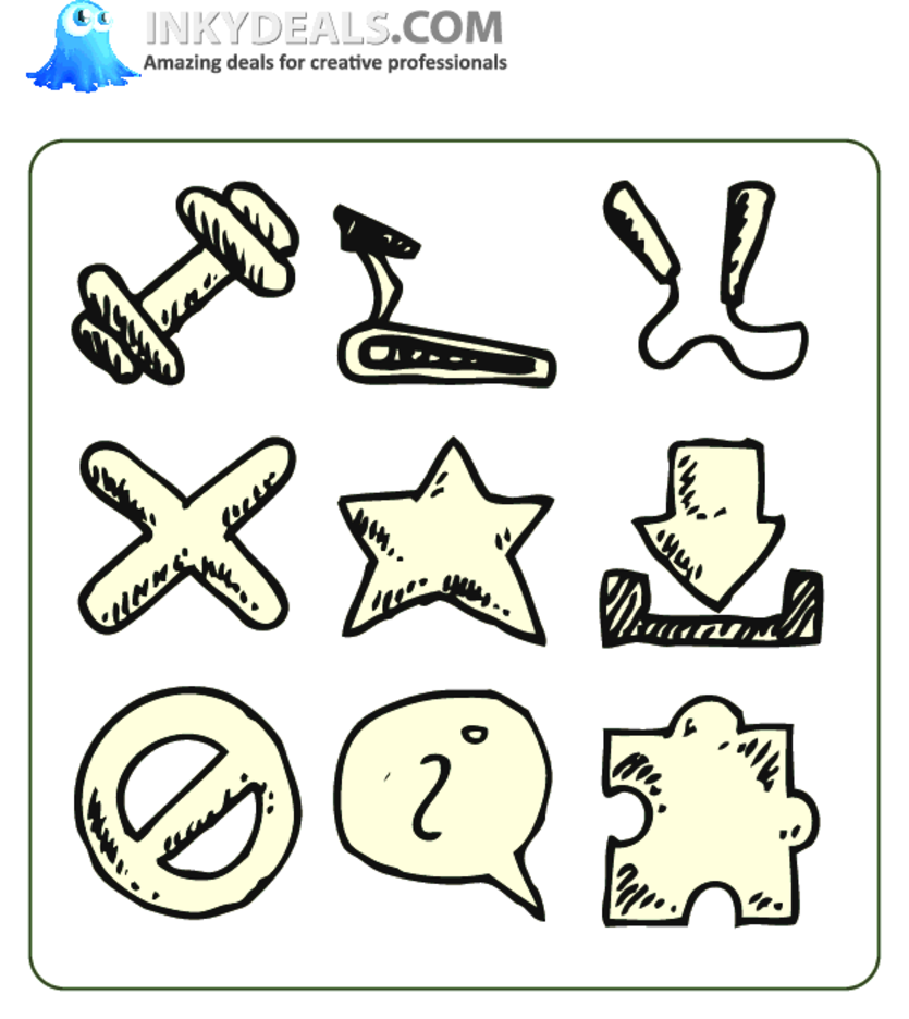 Doodle Icons 6