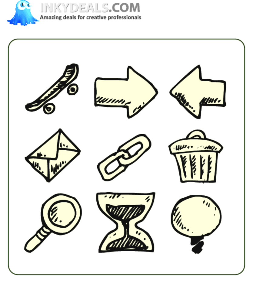 Doodle Icons 7