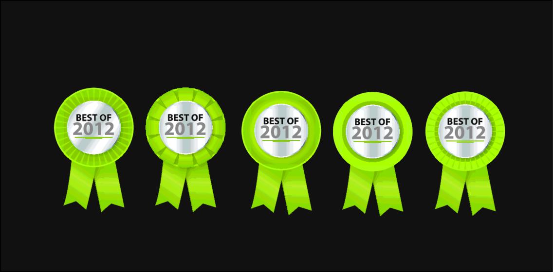 Best Of 2012 Vector
