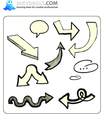 Doodle Arrows 9