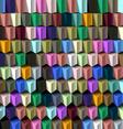 Cube Geometric Background
