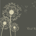 Free Vector Of The Day #41: Dandelion Background