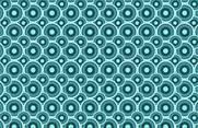 Nice Circle Seamless Vector Pattern