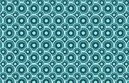 Nice Circle Seamless Vector Pattern