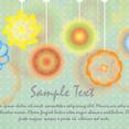 Watercolor Flowers Card Design