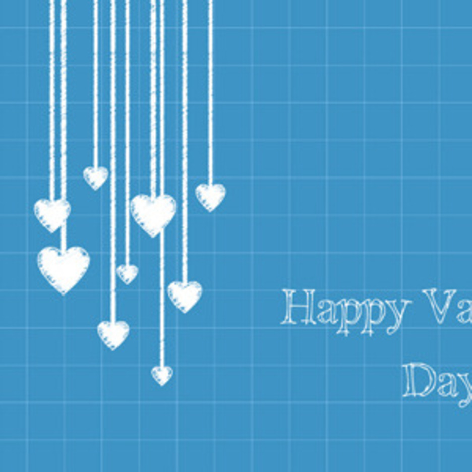 Free Vector Of The Day #119: Valentine's Day Card